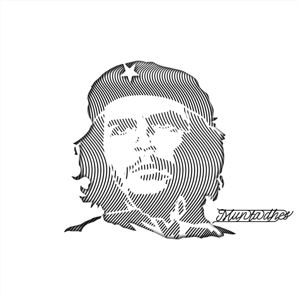 Che Guevara line art Artwork
